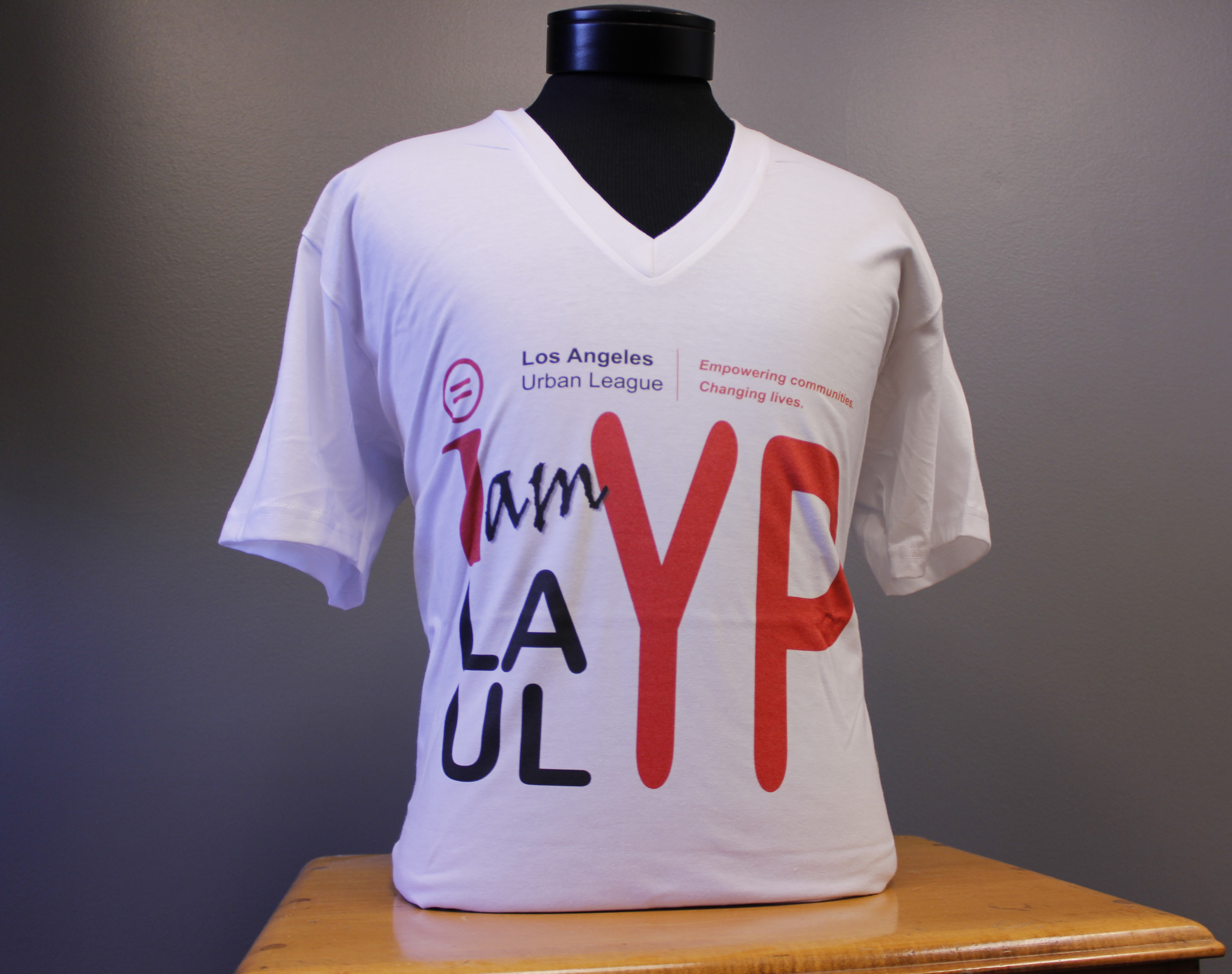 Los Angeles Urban League Of Young Professionals T Shirt Design